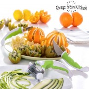 Set decorare legume si fructe-3 buc
