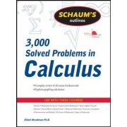Schaum's 3,000 Solved Problems in Calculus by Elliott Mendelson