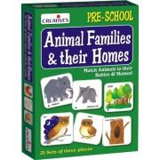 Creative Educational Aids 0620 Animal Families and Their Homes
