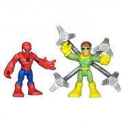 2-pack includes 2 Marvel figures-Figures are sized just right for little hands-Spider-Man and Doc Ock duo-Action figure