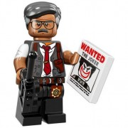 Mini Figurine Lego® Serie 17 - The Batman Movie : Commissaire Gordon