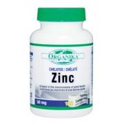 Zinc Chelatat Organika 50 mg 100 tablete