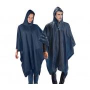 Impermeabile poncho con custodia unisex e cappuccio in taglia unica 80170