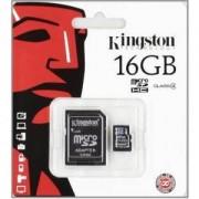 карта 16GB micro SDHC KINGSTON SDC4