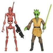 Star Wars 2010 Exclusive Geonosis Arena Showdown Action Figure 2Pack Rodian Jedi Battle Droid #2 of 6