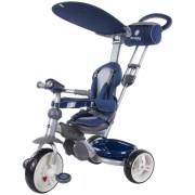 Tricicleta cu copertina Sun Baby Little Tiger Z100 albastru