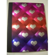 "University of Style Illuminate Composition Book ~ Hearts of Love (7.5"" x 9.75""; 80 Sheets, 160 Pages"