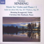 Sinding - Music For Violin & Piano (0747313225477) (1 CD)