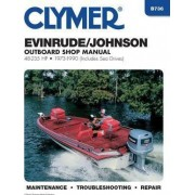 Evinrude/Johnson Outboard Shop Manual, 48-235 HP, 1973-1990 (Includes Electric Motors) by Randy Stephens
