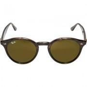 Ray Ban Herren Brillen Sonnenbrille Kunststoff dunkelbraun meliert