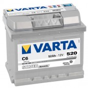 Varta Silver Dinamic 12V 52Ah 540A autó akkumulátor jobb+