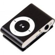 Mini MP3 Player Clip USB Support for 32GB Micro SD Black