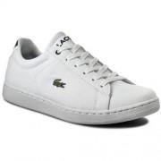 Sneakersy LACOSTE - Carnaby Evo 316 1 7-32SPJ0108001 Wht