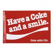 "Panodia Mini Album Photo Traditionnel Coca Cola ""Have A Coke And A Smile"" 12 Pages Blanches"
