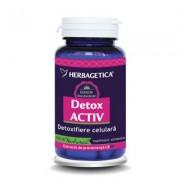 Herbagetica Detox Activ 60 cps