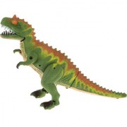 Magideal Kids Walking Dinosaur Toy Figure With Lights & Sounds Moving Green-Brown