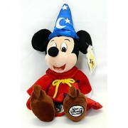 Disneys Fantasia Mickey Mouse the Sorcerer Bean Bag 14 X 7