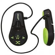 Finis DUO underwater - Reproductor MP3, oscuro / verde menta