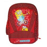 Kotak Sales Minions Cartoon Printed Kids School Bag Waterproof 44Cm