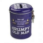 """Fines Money Tin Grumpy Old Man"""
