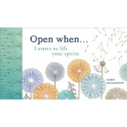 Open When: Letters to Lift Your Spirits