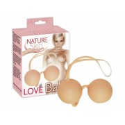 Bile vaginale Love Balls - Nature Skin