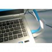 USB LED lampička nastavitelná, Barva Oranžová