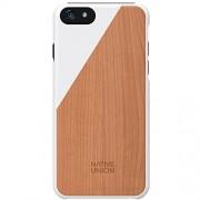 Husa Capac spate Luxury Clic Cherry Wood Alb APPLE iPhone 6, iPhone 6S NATIVE UNION