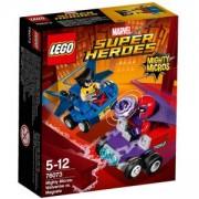 Конструктор Лего СУПЕР ХИРОУС - Mighty Micros - Върколака срещу Магнито, LEGO Super Heroes, 76073