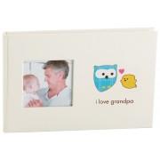 Baby fotoalbum I love grandpa Pearhead