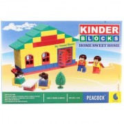 Peacock Kinder Blocks Home Sweet Home For Kids