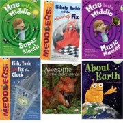 Learn to Read at Home with Bug Club: Lime Pack (Pack of 6 Reading Books with 4 Fiction and 2 Non-Fiction) by Andrew Fusek Peters