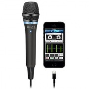 IK Multimedia iRig Mic HD high-definition handheld microphone for iPhone iPad and Mac (black)