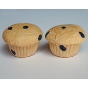 Blueberry Muffins Breakfast Snack Treat Set Of 2 Perfect For 18 Inch American Girl Dolls
