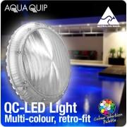 Aquaquip QC LED Multi-Colour Retro-Fit underwater Pool Light