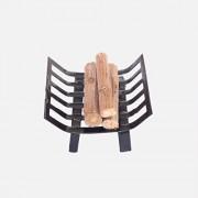 1/12 Juguetes de Casa de Muñecas Muebles Estante Metal con Leña Chimenea Sala
