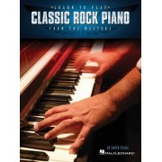 Learn to Play Classic Rock Piano from the Masters by Honorary Professor David Pearl