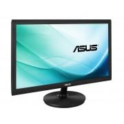 """Monitor 21.5"""" ASUS LED VS229NA, 1920 x 1080, 16:9, 5ms, 250 cd/mp, D-Sub, DVI-D, Kensington Lock, VESA, Negru"""