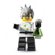 Lego Collectable Minifigures: Crazy Scientist Minifigure - Series 4