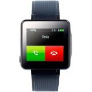 SimValley Mobile Montre téléphone portable multimédia ''PW-415.Steel''
