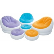 INTEX aufblasbarer Sessel Cafe Chaise Chair inkl. Ottomane Liege