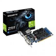 Gigabyte GV-N610-2GI (rev. 1.0) - Scheda grafica - GF GT 610 - 2 GB DDR3 - PCIe 2.0 x16 Low Profile - DVI, D-Sub, HDMI
