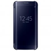 Capa com Cobertura Clear View EF-ZG925BB para Samsung Galaxy S6 Edge - Preto Safira