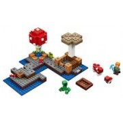 Lego® Minecraft Insula Ciupercilor - 21129