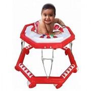 Suraj Baby red color 8 wheel musical Walker for your kids Se-W-57