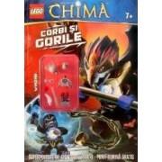 Lego. Legends of Chima. Corbi si gorile. Superpoveste de aventuri. Jocuri. Minifigurina gratis