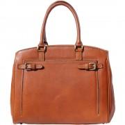 Florence Leather Market Raffinata borsa tote in pelle liscia (8501)