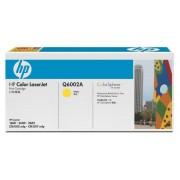 HP Original HP Color Laserjet Toner Q6002A yellow - Neu & OVP