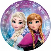 Farfurii party Frozen Northern Lights 23 cm
