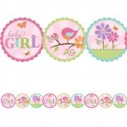 Ghirlanda botez Baby Girl- 2.4 m, Amscan 221116